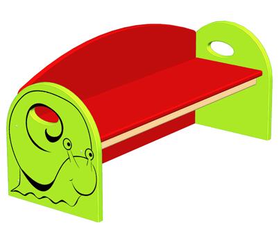 Mobilier pour crèche : gamme zebulon développé pour la société